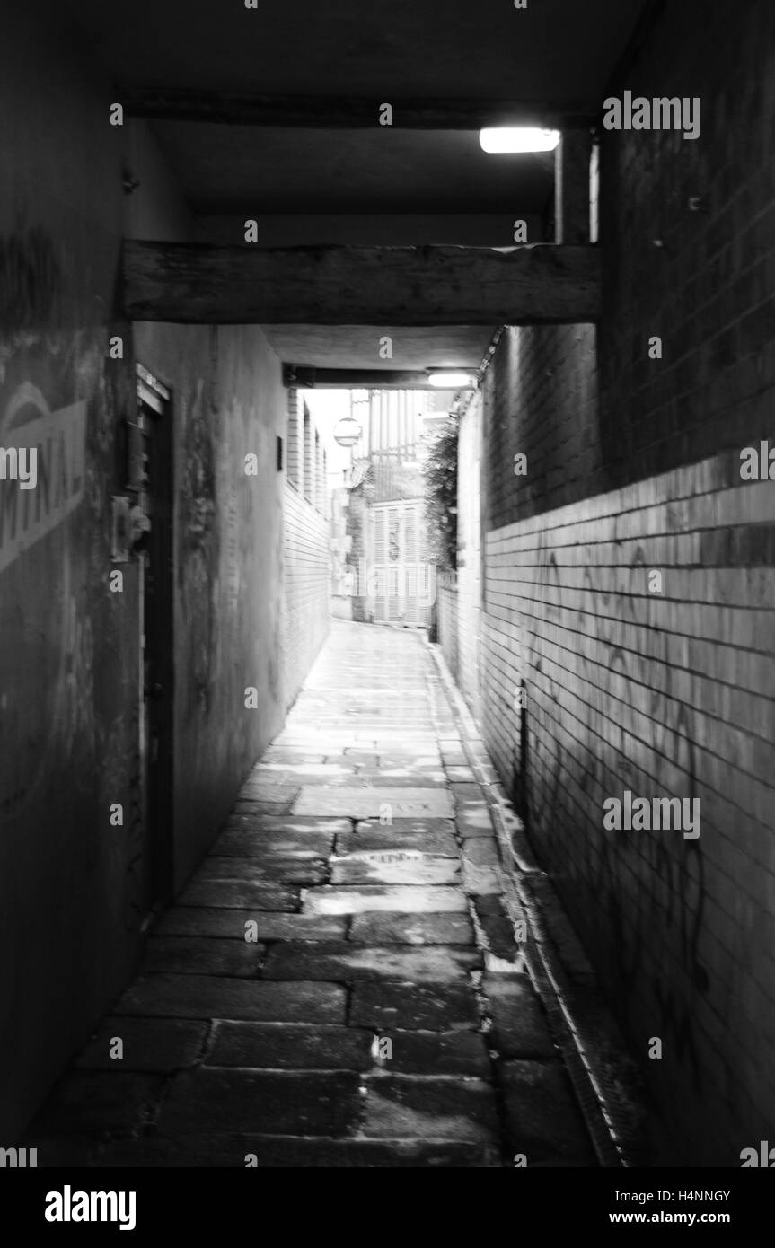 Dublin Tunnel - Stock Image