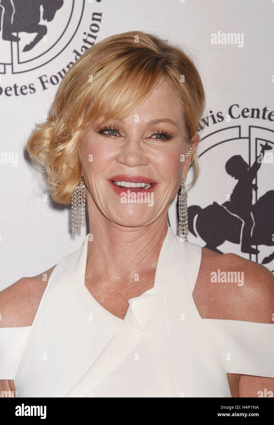 MELANIE GRIFFITH US film actress in October 2016. Photo Jeffrey Mayer - Stock Image