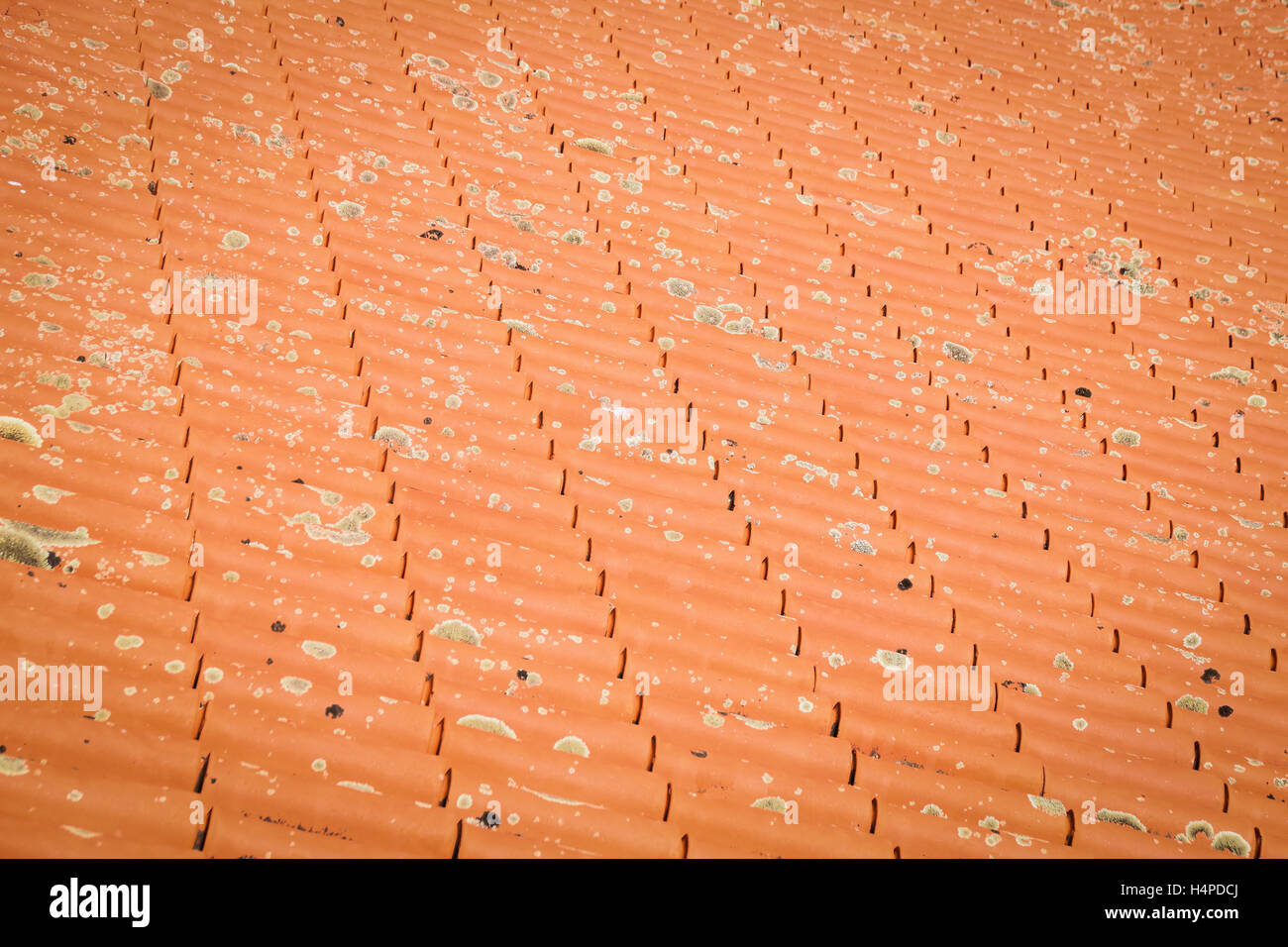 Coloured Roof Tiles Stock Photos Amp Coloured Roof Tiles
