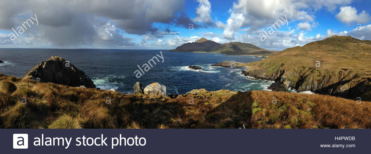 Cape Horn on southern tip of Chile. - Stock Image
