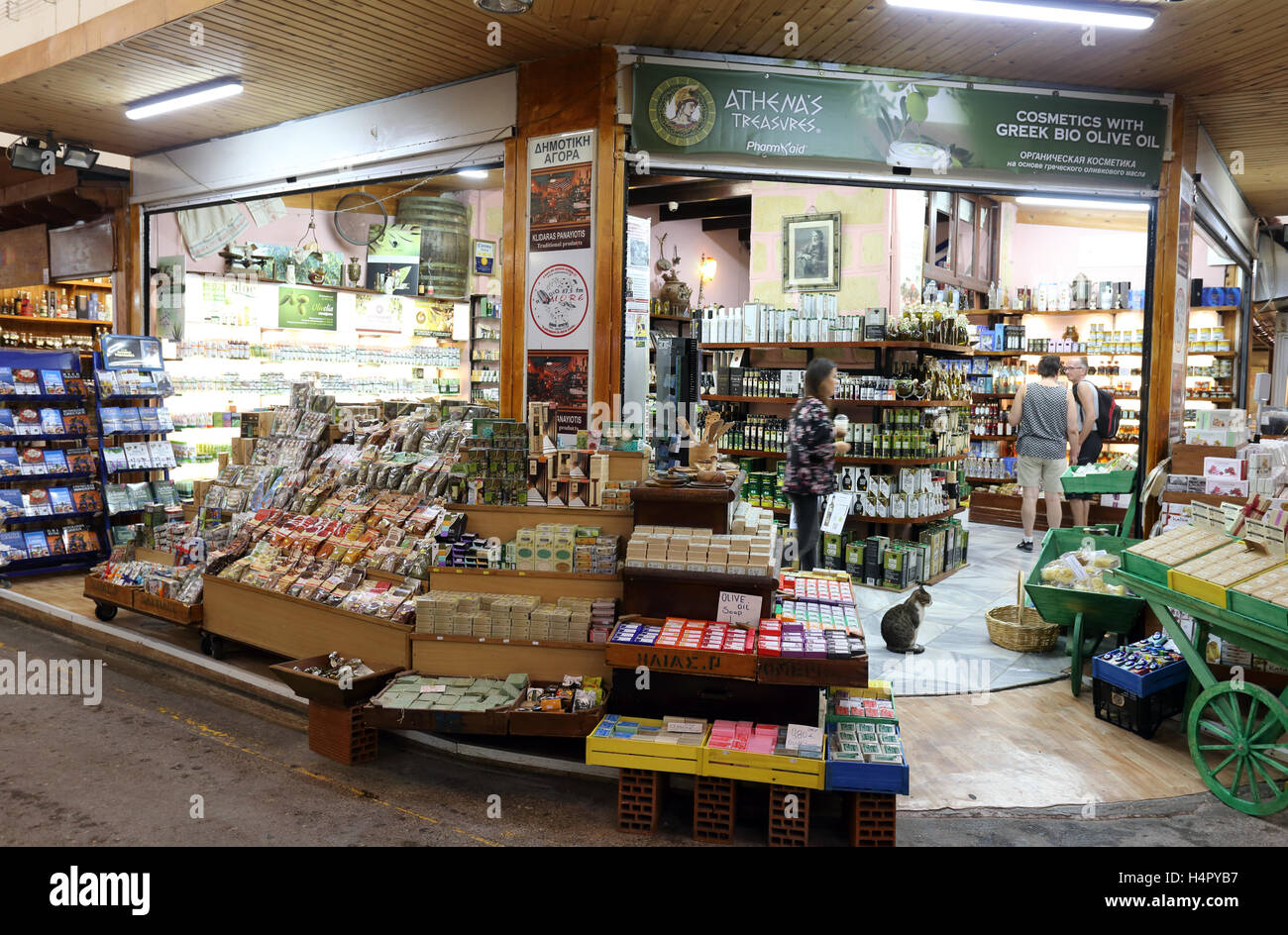 Shopping in Crete: supermarkets, boutiques, markets