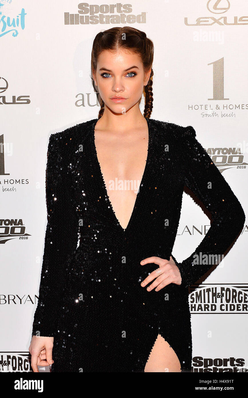 Model barbara palvin attends the red carpet for sports illustrated stock photo 123509060 alamy - Barbara palvin red carpet ...