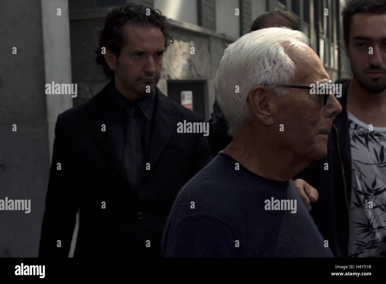Giorgio Armani Fashion Show Stock Photos Giorgio Armani