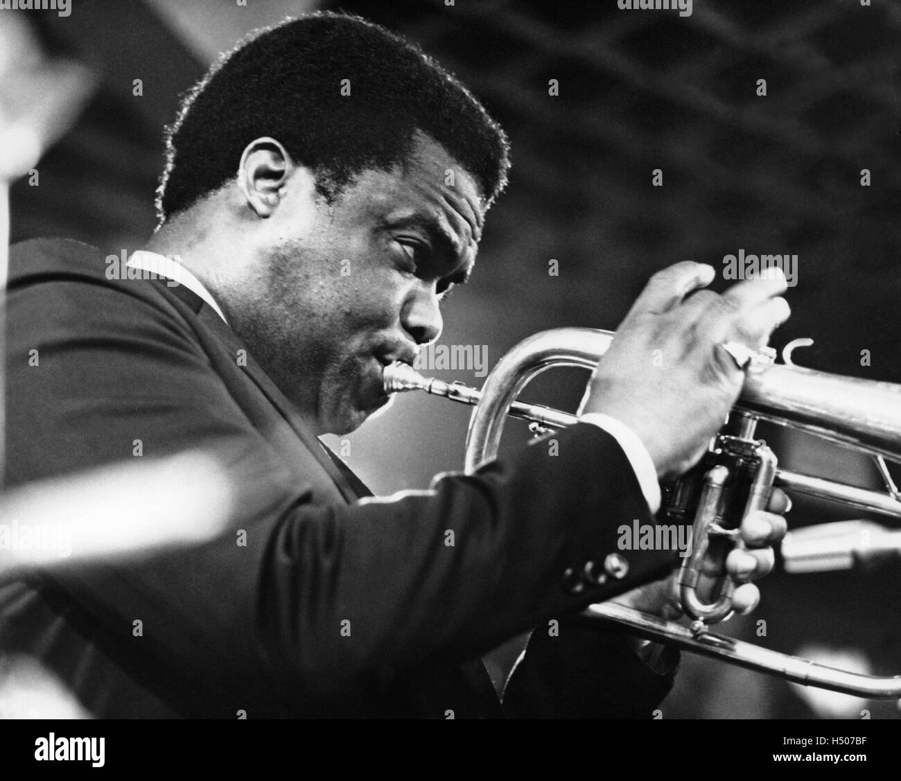 Freddie Hubbard Stock Photo