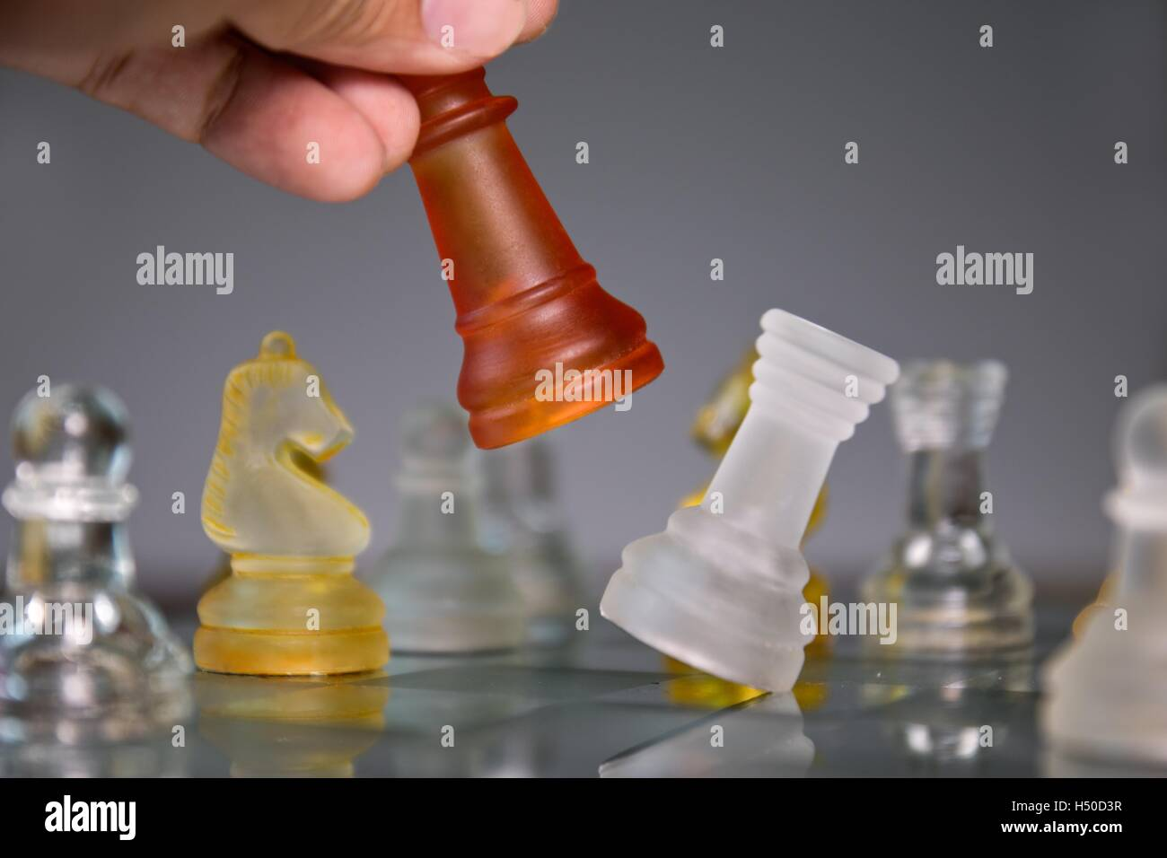 Checkmate Chess - Stock Image