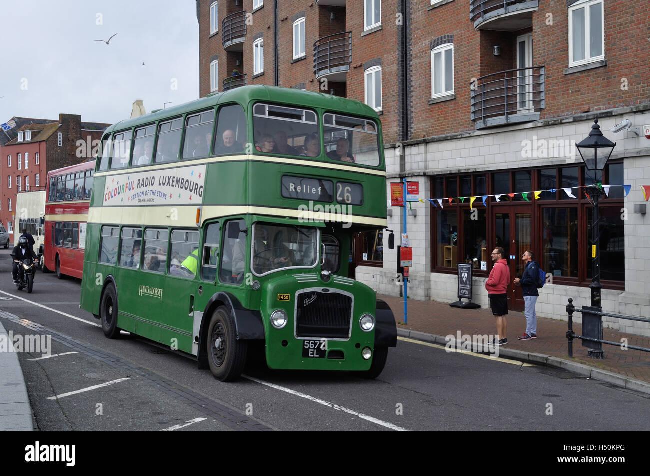 Hants /& Dorset 1471 6x4 Bus Photo