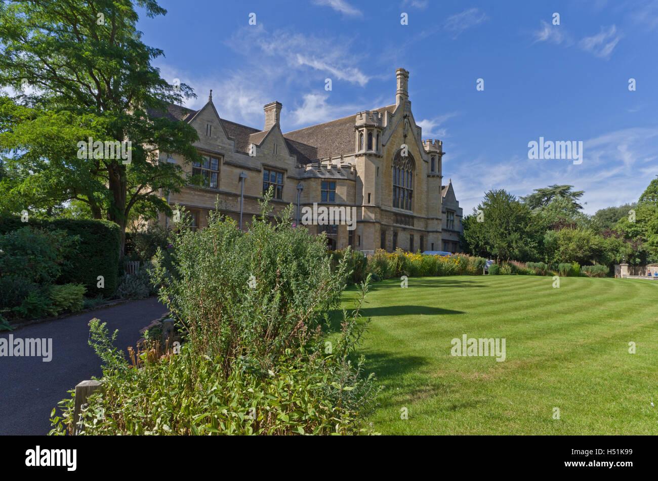 The Great Hall, Oundle School, Northamptonshire, UK - Stock Image