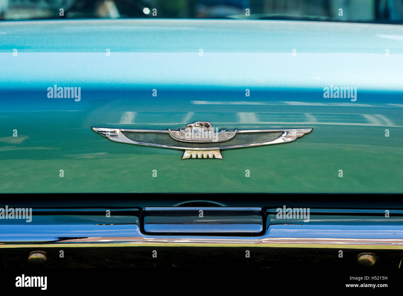 Ford Thunderbird Rear End Classic American T Bird Stock Photo