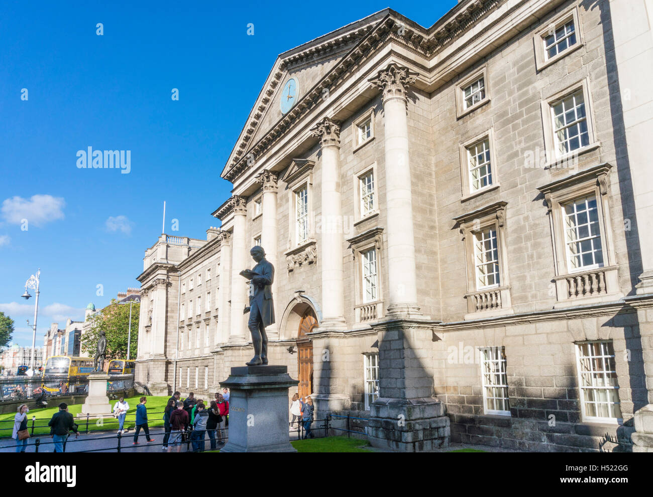 Regent House Trinity College Dublin Ireland Europe EU - Stock Image