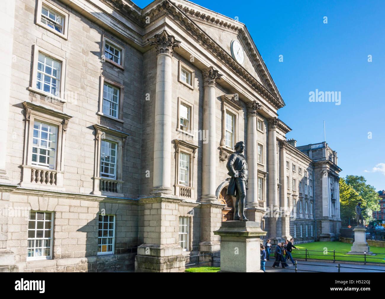 Regent House Trinity College Dublin Ireland Europe EU - Stock Image