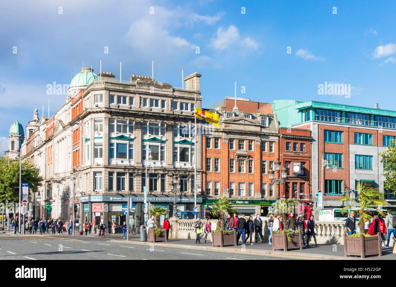 O'Connell Bridge City Centre Dublin Ireland Europe EU - Stock Image