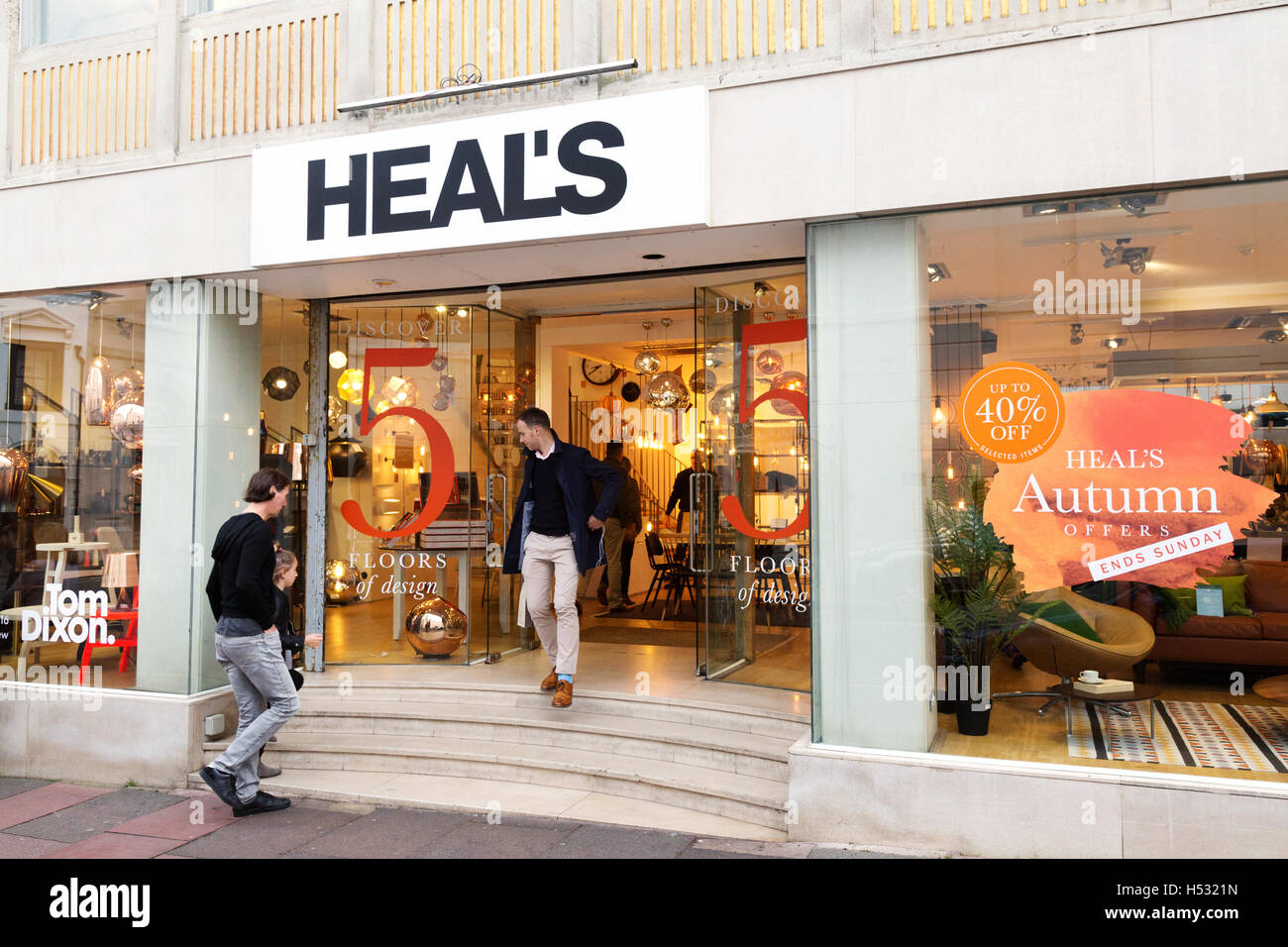 Heal's store, Brighton Sussex UK - Stock Image