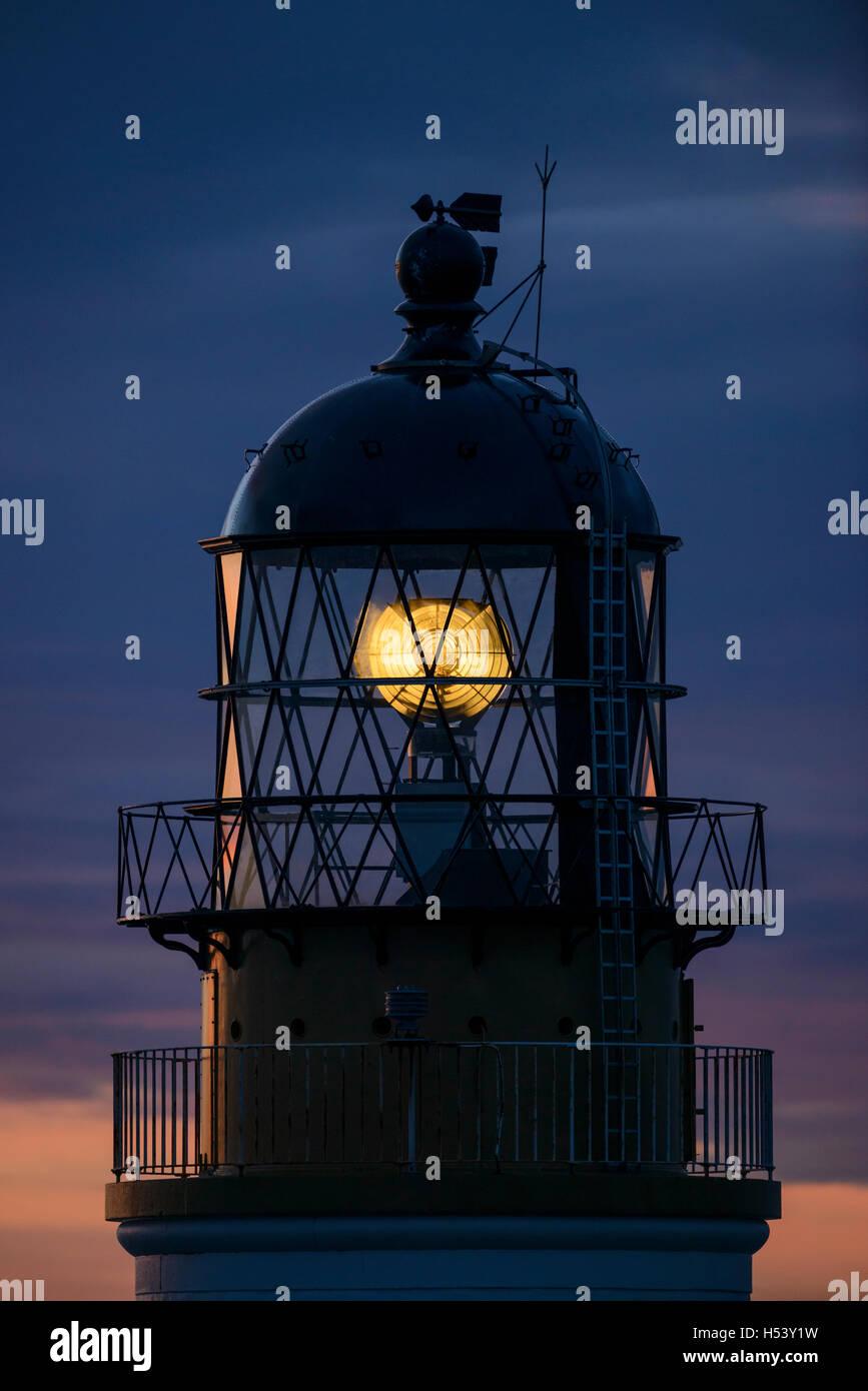 Noup Head Lighthouse, Westray, Orkney Islands, Scotland. - Stock Image