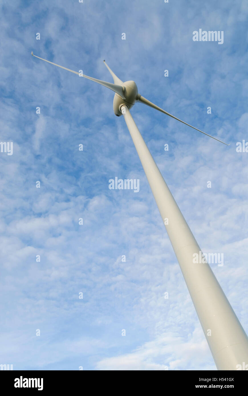 Liniclate wind turbine, Benbecula, Outer Hebrides (Western Isles), Scotland. - Stock Image