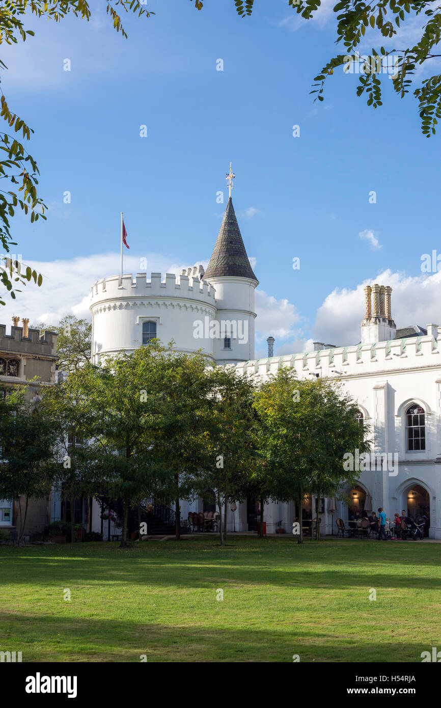 Strawberry Hill House, Twickenham, London Borough of Richmond upon Thames, Greater London, England, United Kingdom - Stock Image