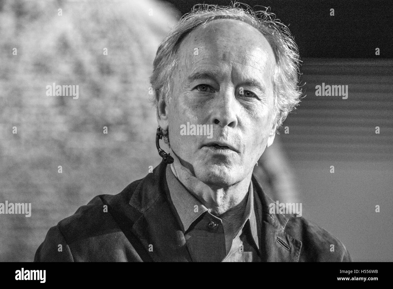 American noveslit, Richard Ford, talks during his conference like winner of Princess of Asturias Awards of Literature. - Stock Image