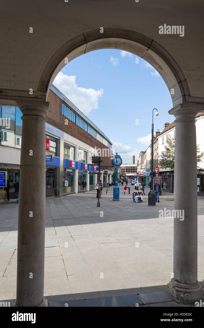 Eden Walk from The Guildhall, High Wycombe, Buckinghamshire, England, United Kingdom - Stock Image
