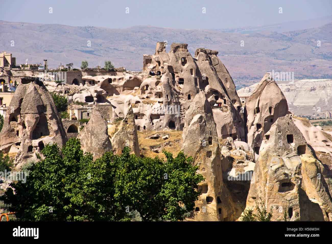 Capadoccia,Goreme,Turkey,Cave housess - Stock Image