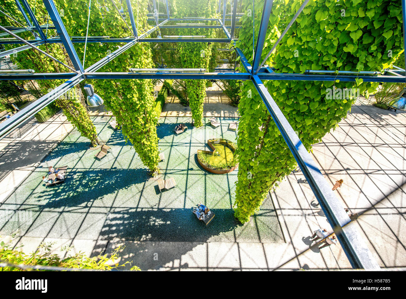 MFO-park in Zurich - Stock Image
