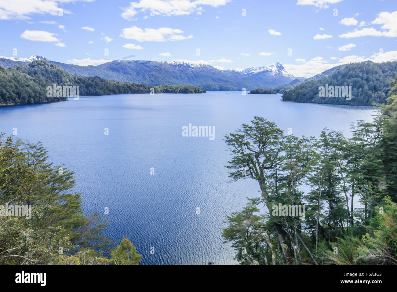 Scenic View in San Martin De Los Andes, Patagonia, Argentina Stock Photo