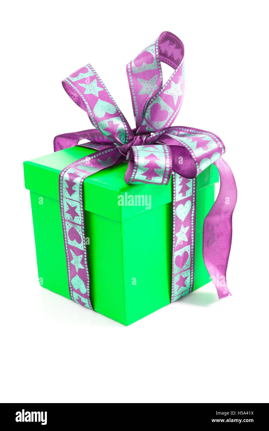 Christmasbirthday Gift Box Present Surprise Multicolor Redbluegreenorangeyellowpink Colors Happy Birthday Isolated