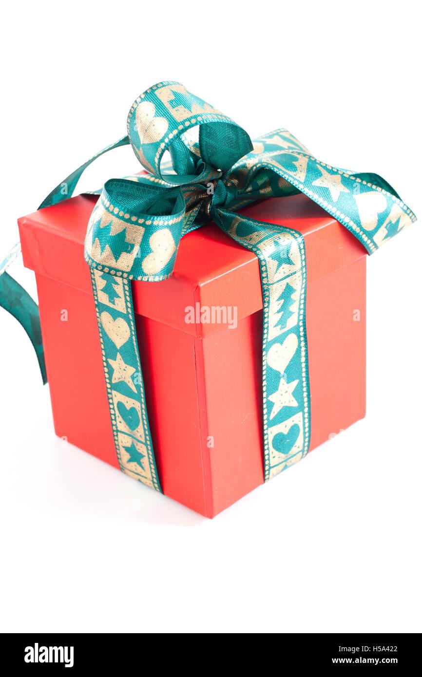 Christmasbirthday Gift Box Present Surprise Multicolor Redbluegreenorangeyellowpink Colors Happy Birthday Isolated