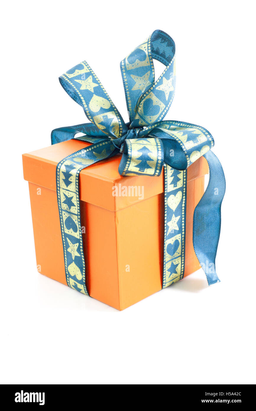 Christmas Birthday Gift Box Present Surprise Multicolor Stock Photo