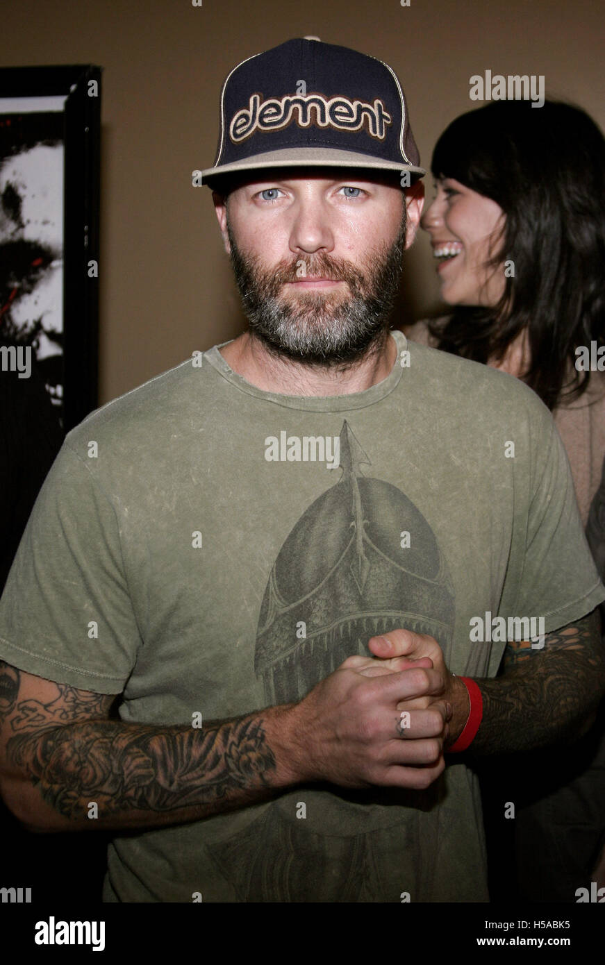 c3dbc9338c2b3 Fred Durst attends the Los Angeles Premiere of  The Tripper  held at the  Mann s