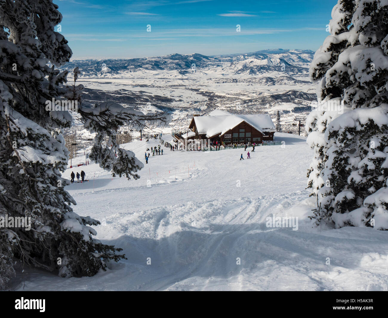 four points lodge, steamboat ski resort, steamboat springs, colorado