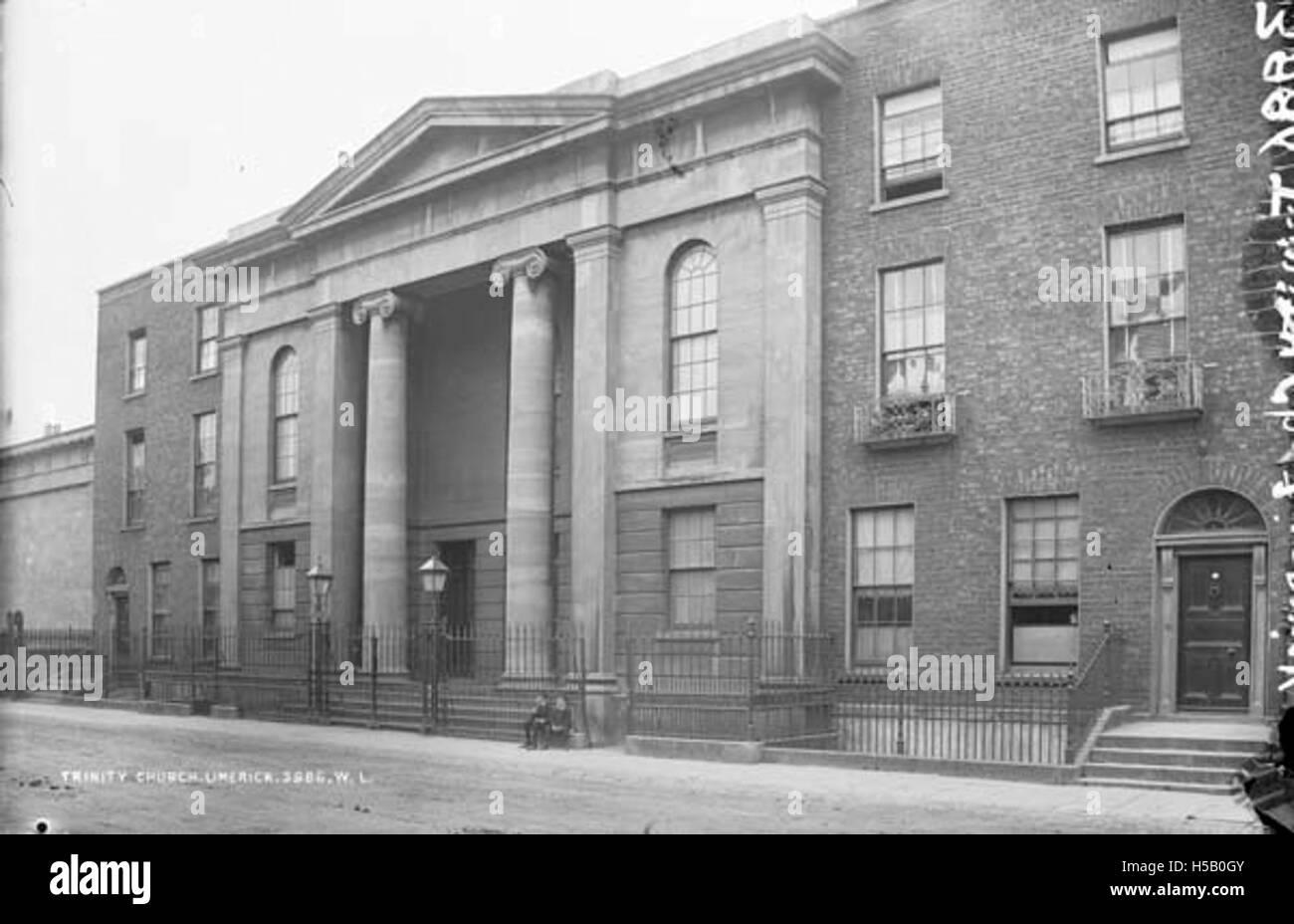 Trinity Church, Limerick - Stock Image