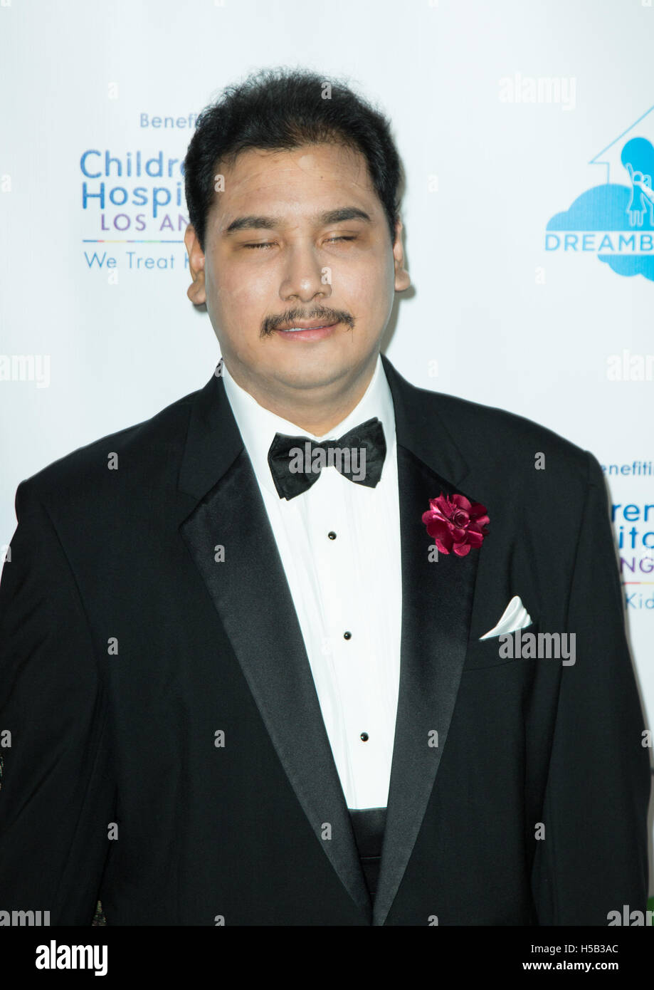 M Ade Irawan attends Brighter Future for Children Gala at Taglyan Complex on March 3, 2016 in Los Angeles, California, - Stock Image