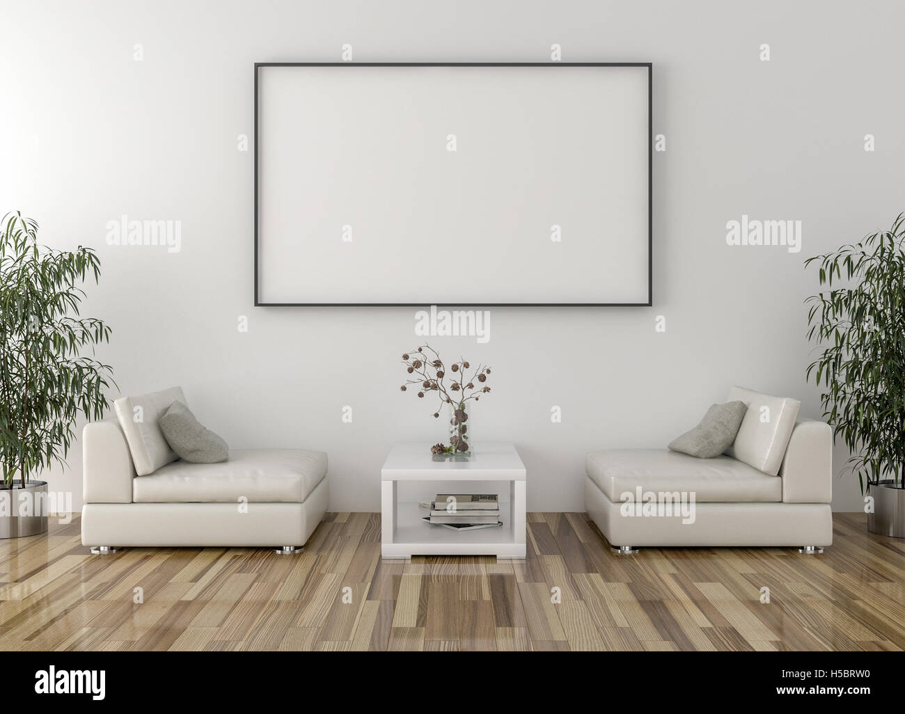 Waiting Room Blank Picture Frame Stock Photos & Waiting Room Blank ...