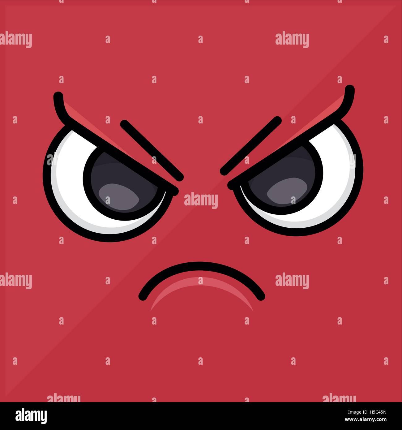 Angry wallpaper emoticon design icon stock vector art illustration angry wallpaper emoticon design icon altavistaventures Image collections