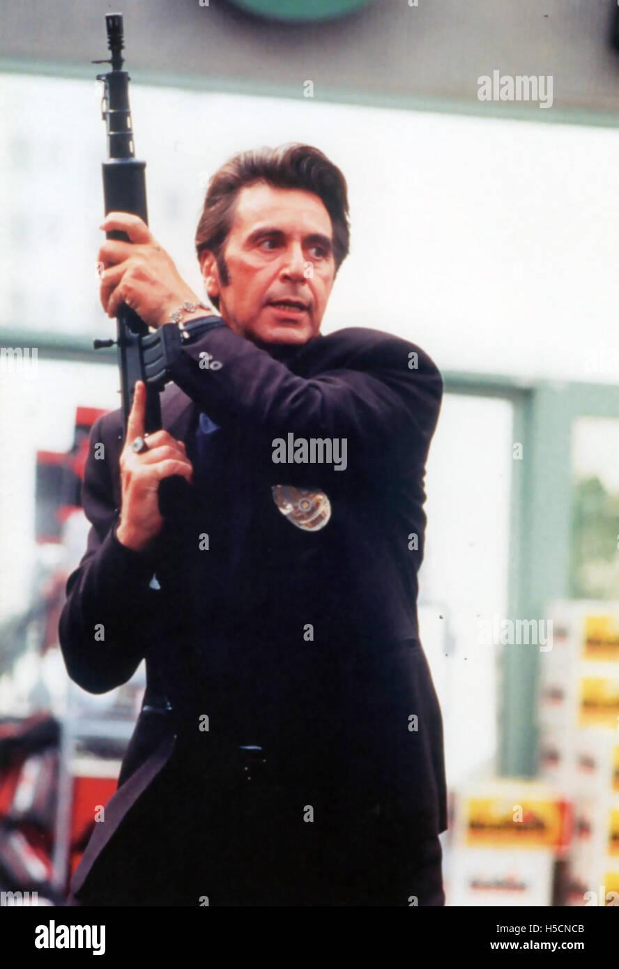 HEAT 1995  Warner Bros film with Al Pacino - Stock Image