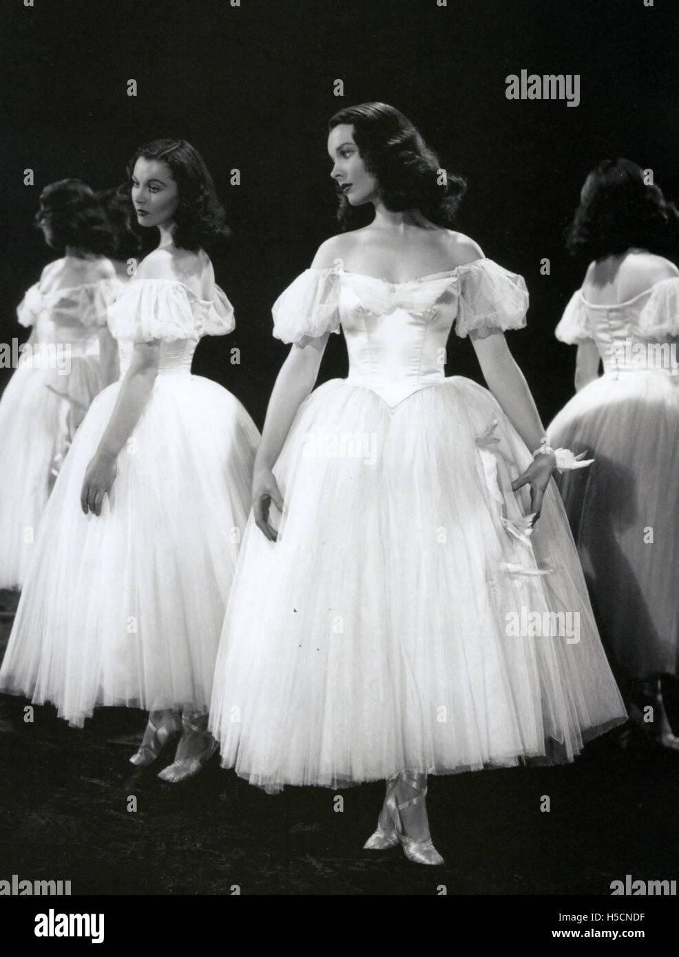 WATERLOO BRIDGE 1940 MGM film with Vivien Leigh - Stock Image