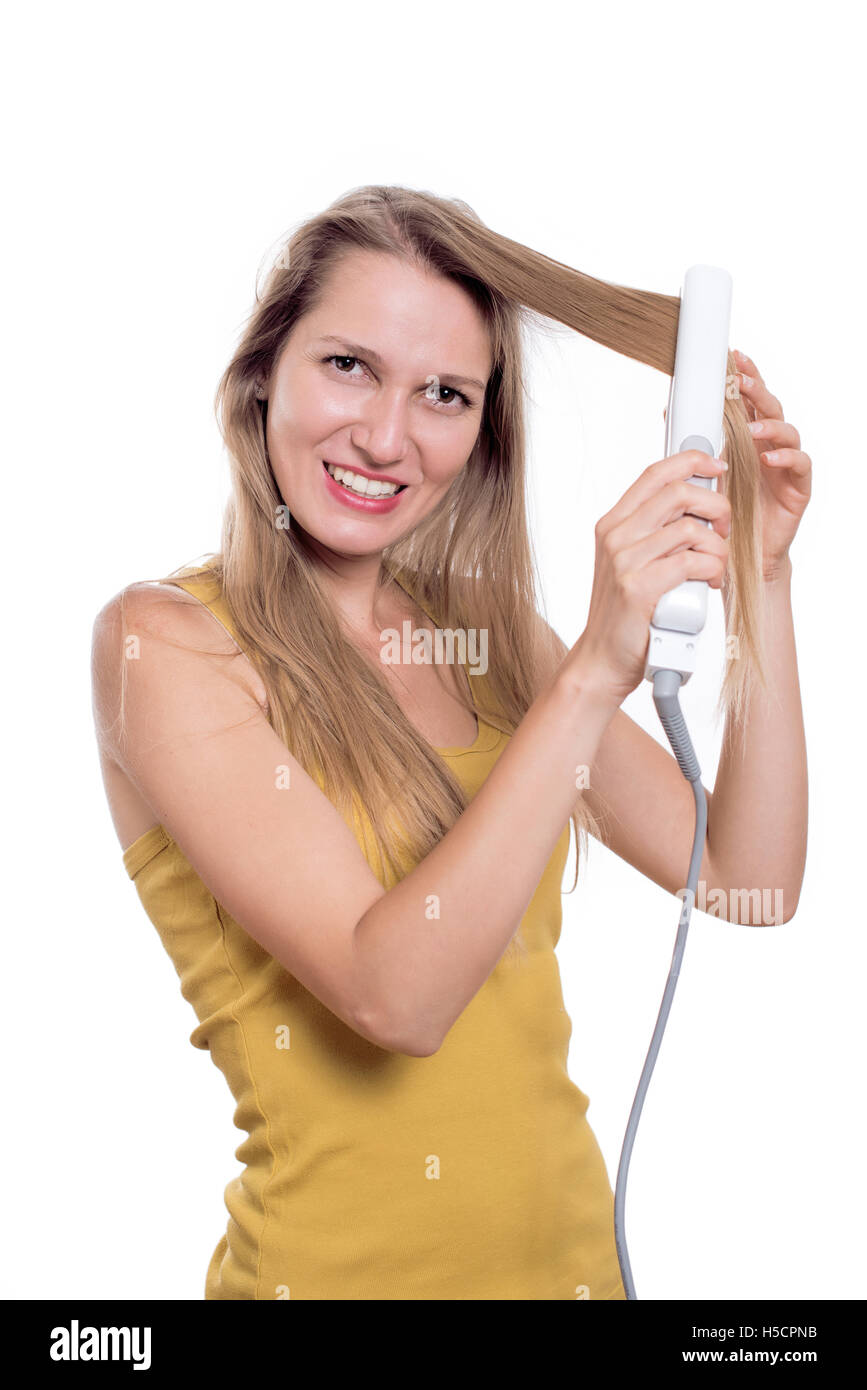 Hair Iron Stock Photos Amp Hair Iron Stock Images Alamy