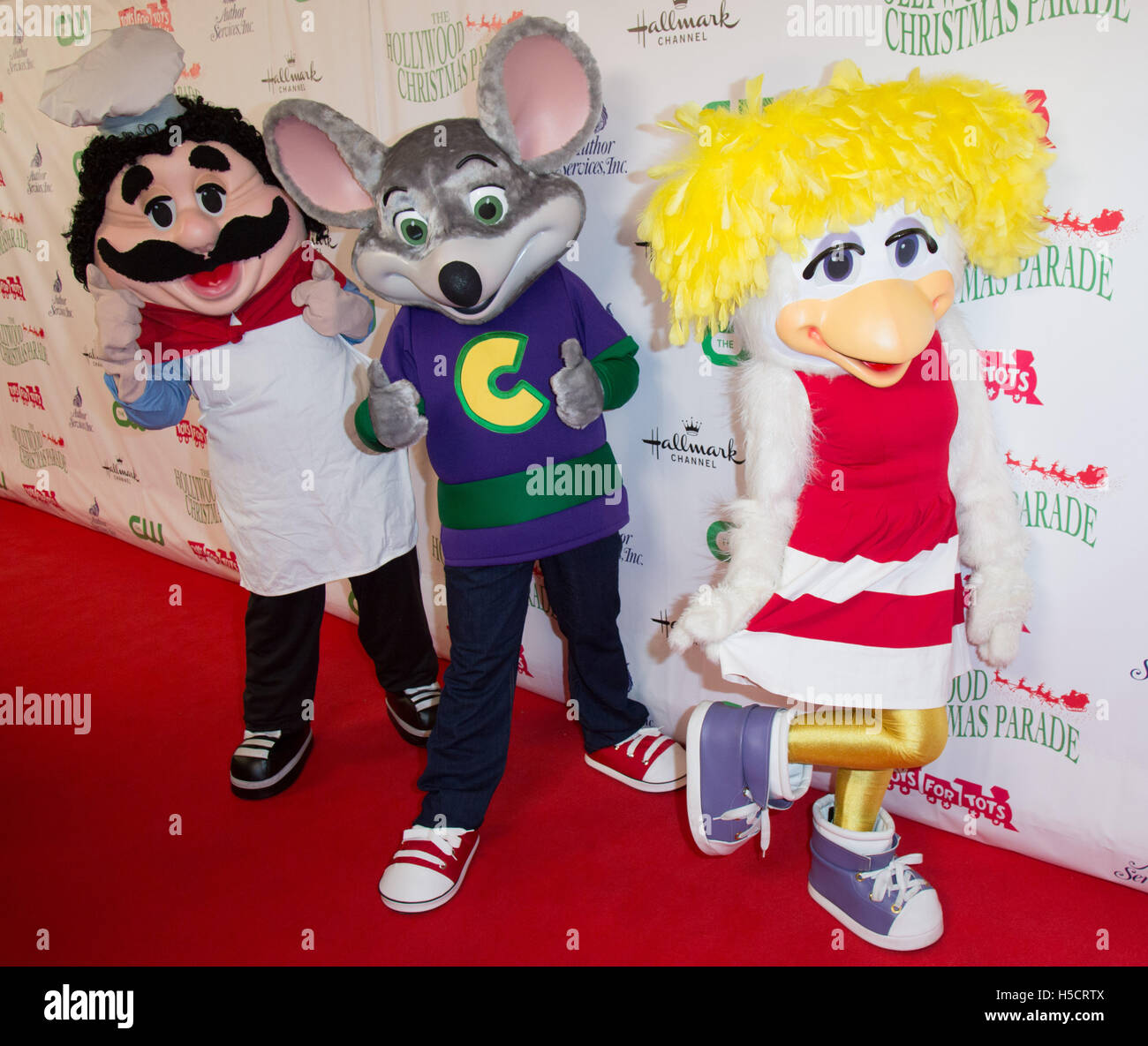 Chuck E Cheese Christmas.Chuck E Cheese And Guests Attend The 84th Annual Hollywood