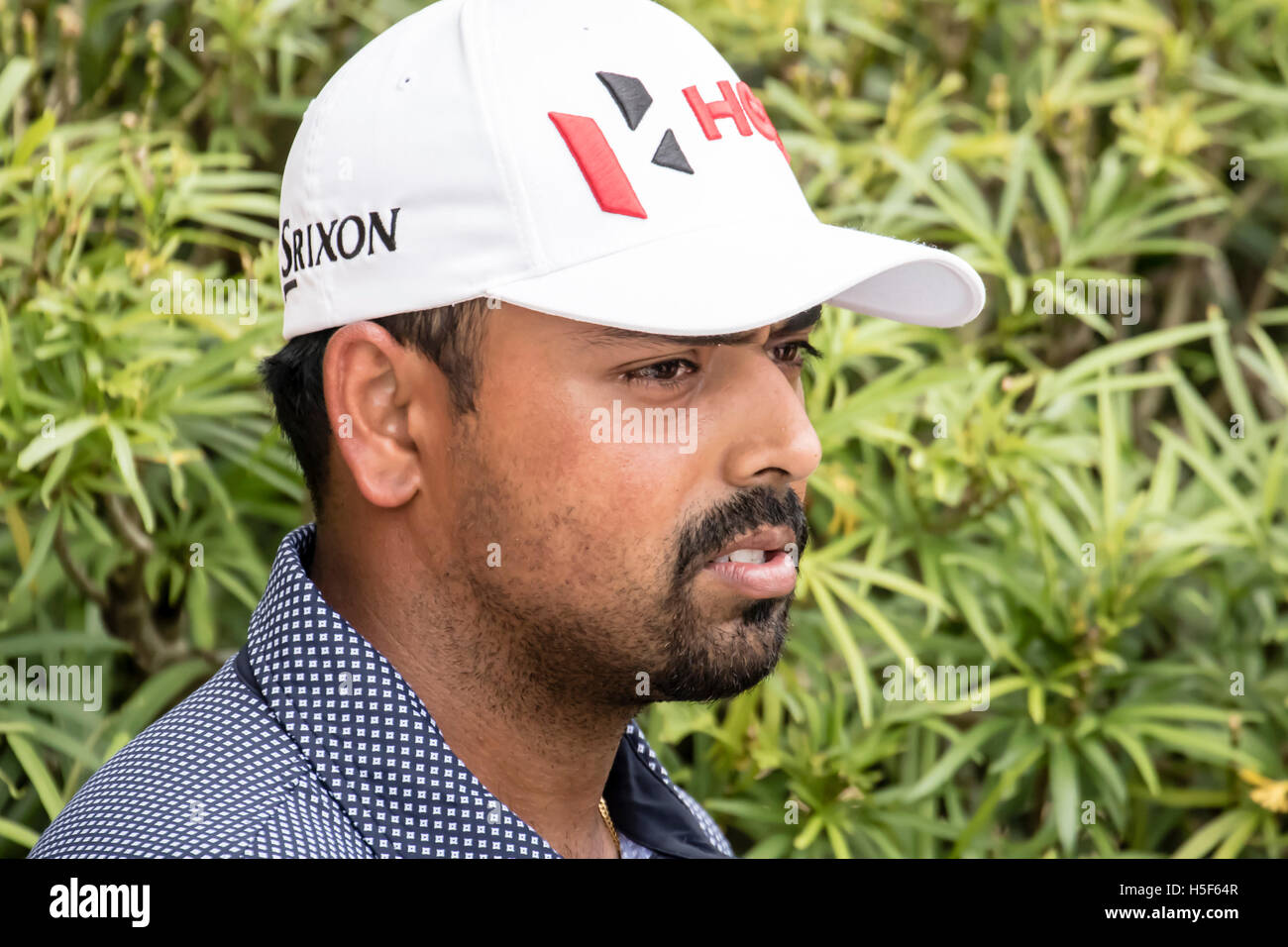 Kuala Lumpur, Malaysia. 20th Oct, 2016. Anirban Lahiri at the CIMB PGA 2016 Golf Championship at TPCKL golf course - Stock Image