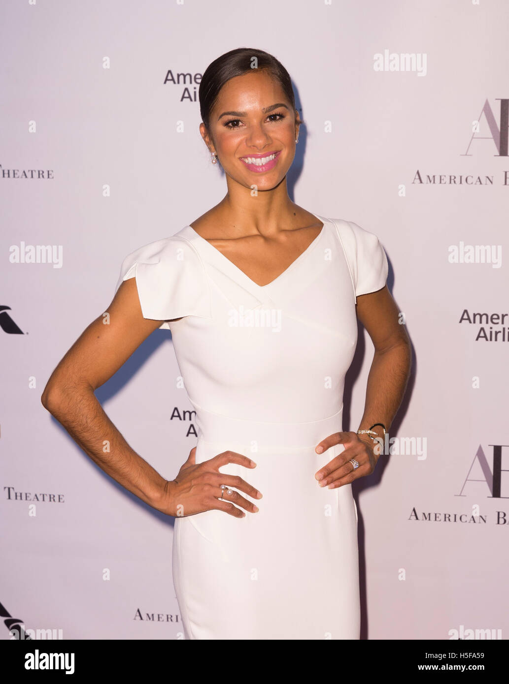 New York, USA. 20th October, 2016. 2016: Misty Copeland attends American Ballet Theatre 2016 Fall Gala at Lincoln - Stock Image