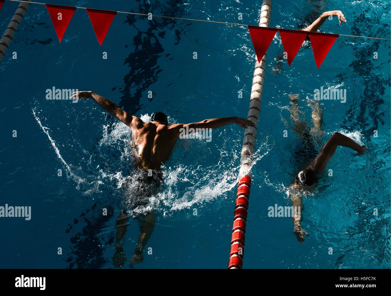 Yekaterinburg, Russia. 26th Sep, 2016. Youngsters in swimming training at Olympic Reserve School No 1. © Donat - Stock Image