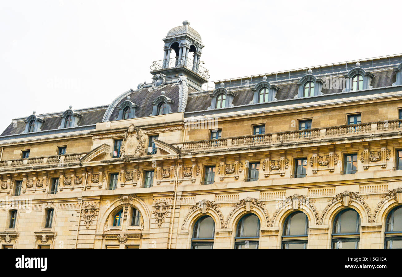 France. Paris. Orsay Museum - Stock Image