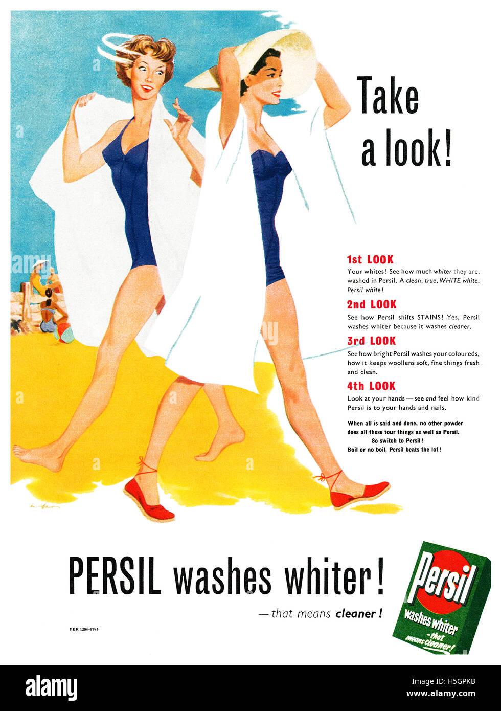 Persil Advert Stock Photos & Persil Advert Stock Images