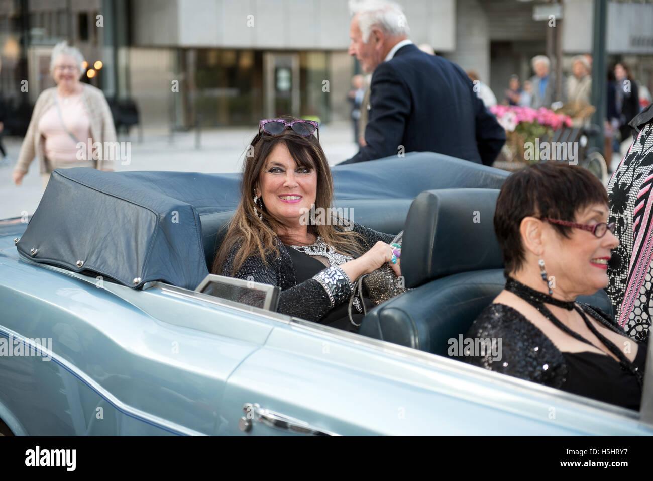English Actress And James Bond Girl Caroline Munro Stock