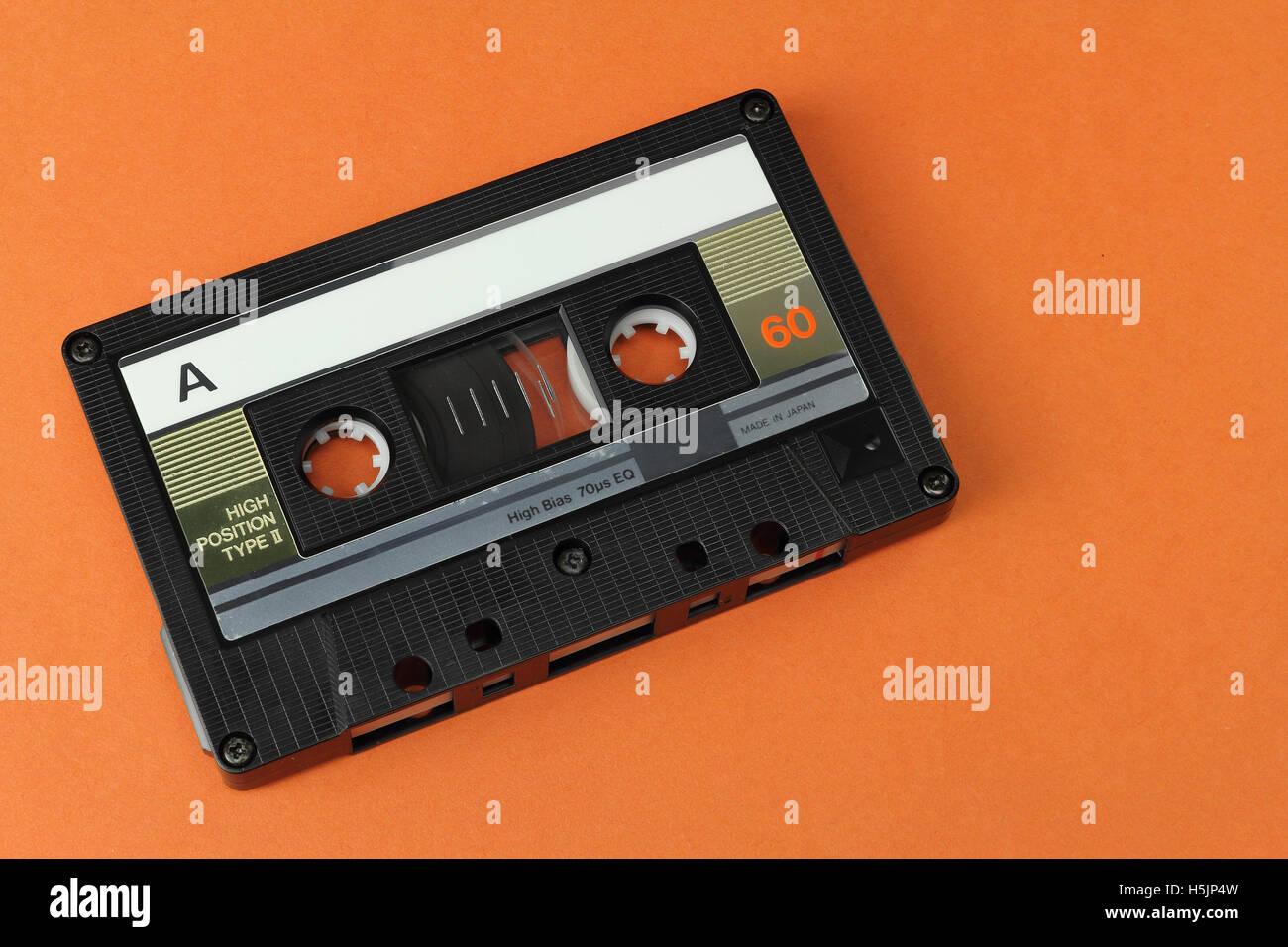 Compact Cassette C60 - Stock Image