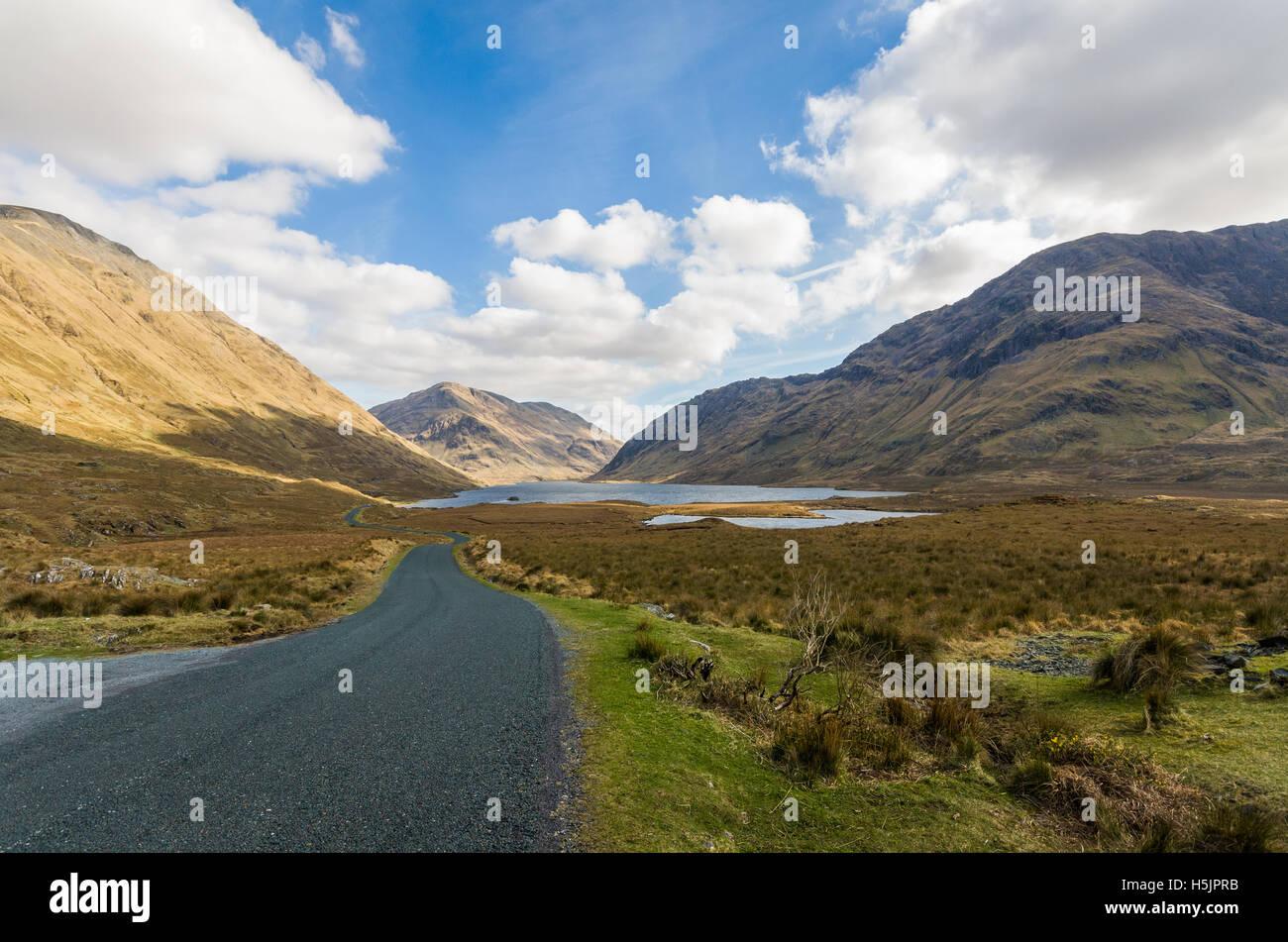 Doolough lake County Mayo, Ireland - Stock Image