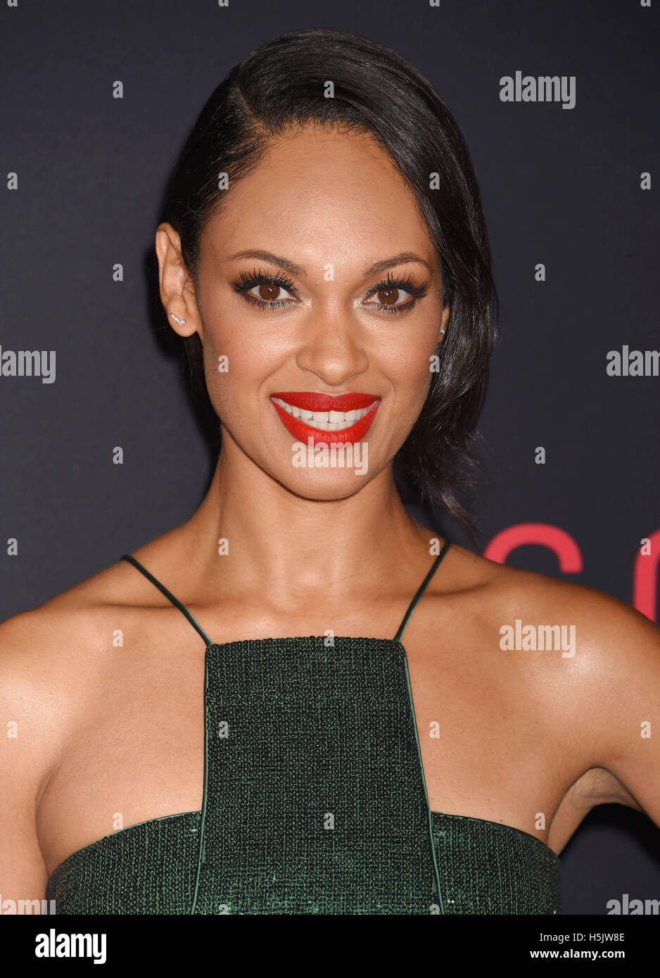 CYNTHIA ADDAI-ROBINSON  Anglo-American film actress in October 2016. Photo Jeffrey Mayer Stock Photo