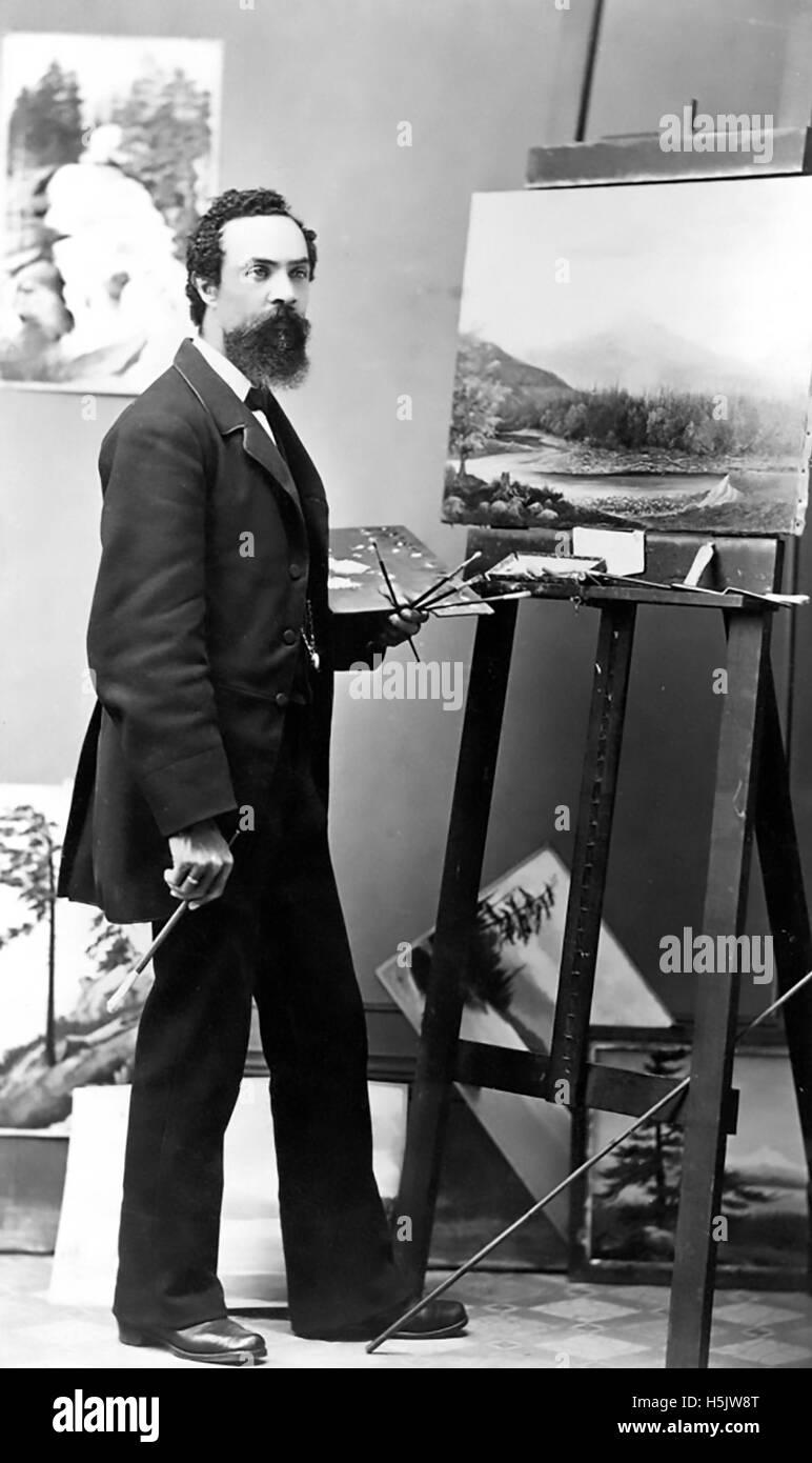 GRAFTON TYLER BROWN (1841-1918) American artist Stock Photo