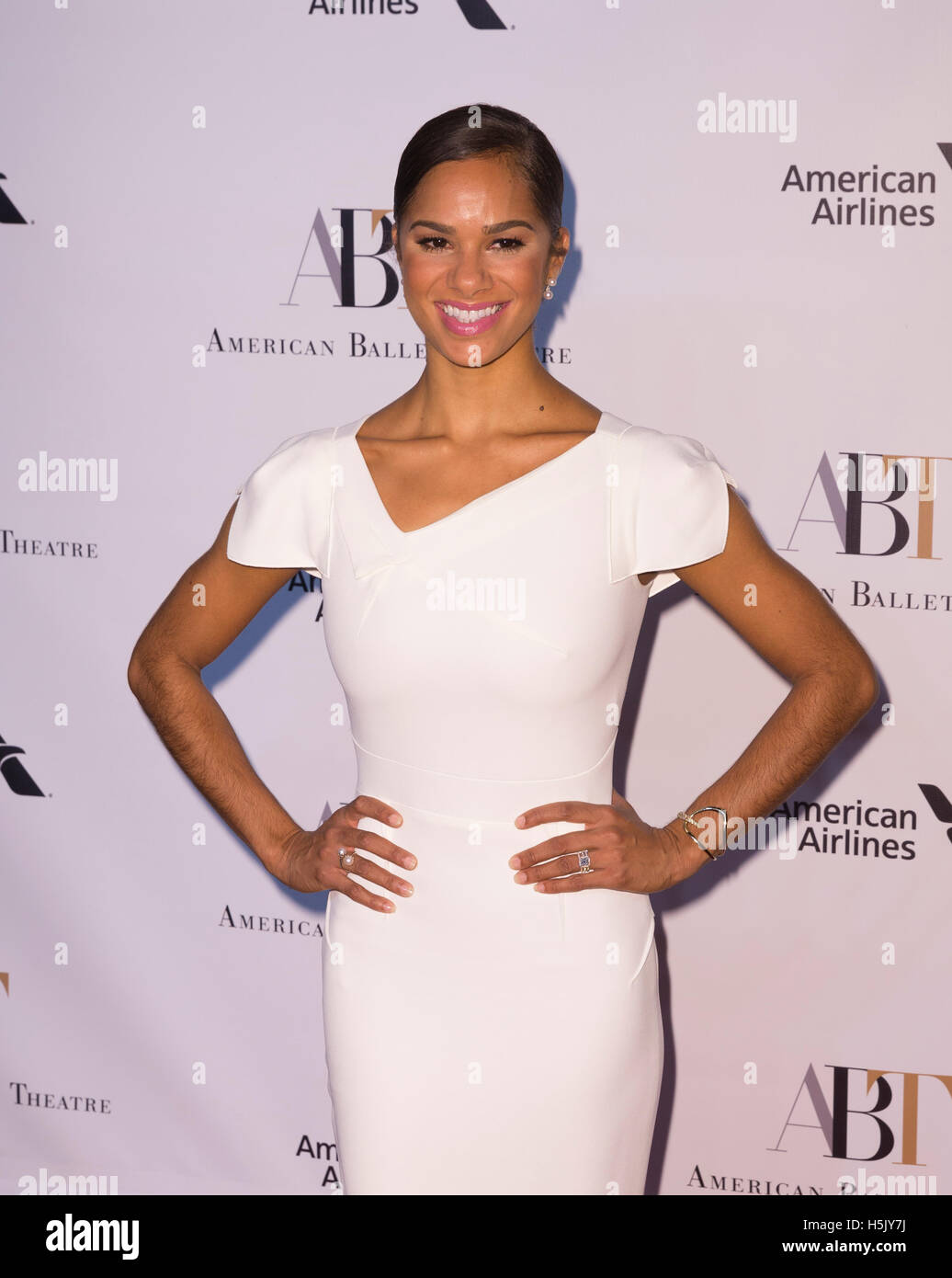 New York, United States. 20th Oct, 2016. Misty Copeland attends American Ballet Theatre 2016 Fall Gala at Lincoln - Stock Image