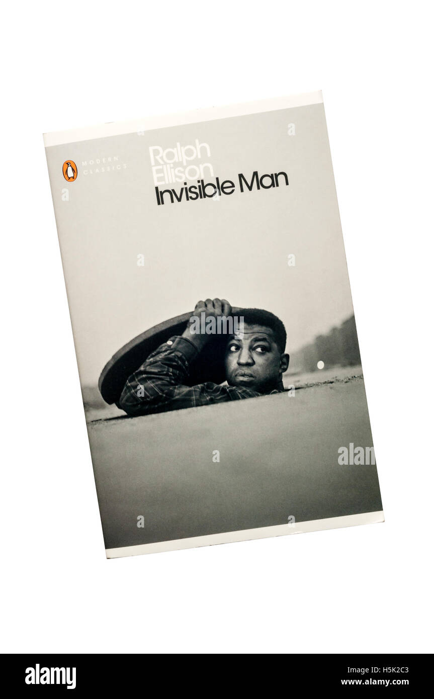 A paperback copy of Invisible Man by Ralph Ellison.  First published in 1952. - Stock Image