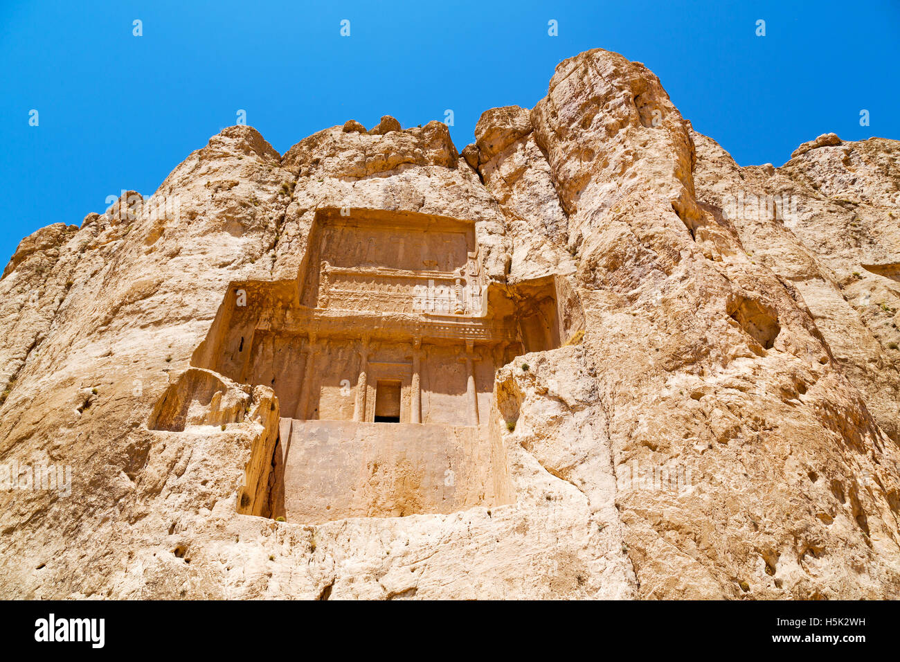 In Iran Near Persepolis The Old Ruins Historical Destination Stock Photo Alamy